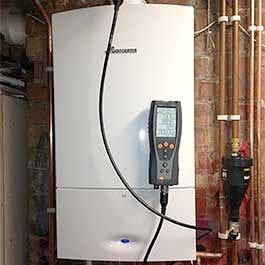 Boiler fitting and repair